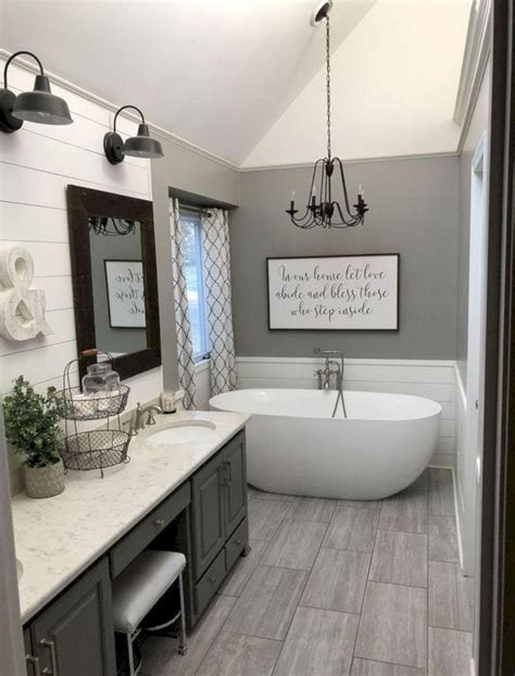 Bathrooms Decor Ideas by 35 Best Farmhouse Bathroom Decor Ideas On A Budget