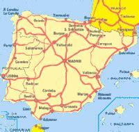 Carte Peage Espagne Portugal by Carte Espagne Portugal Autoroutes Arts Et Voyages