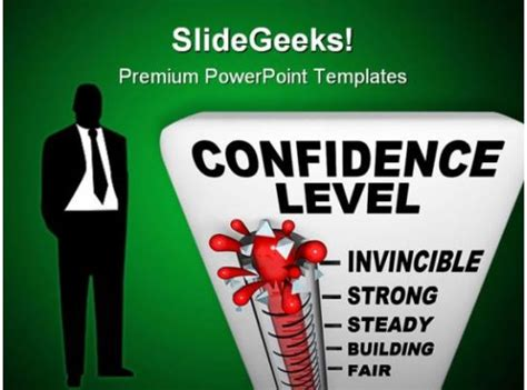 thermometer  confidence level science powerpoint