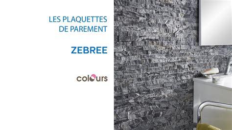 plaquette de parement zebree colours 679490 castorama
