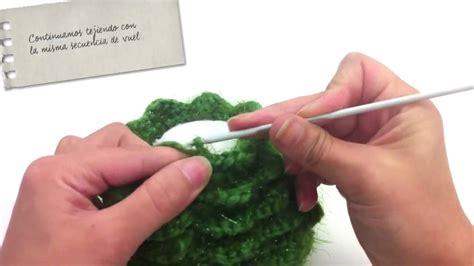 tutorial 193 rbol de navidad de crochet misslanitas youtube