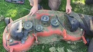 Replacing Belt On Husqvarna Riding Lawn Mower