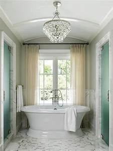 Barrel Ceiling Bathroom - Traditional