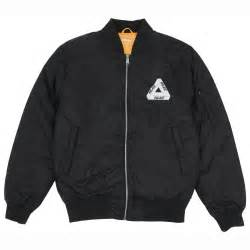 card pockets thinsulate bomber jacket in anthracite by palace