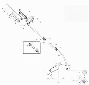 W25cbk Handle Parts