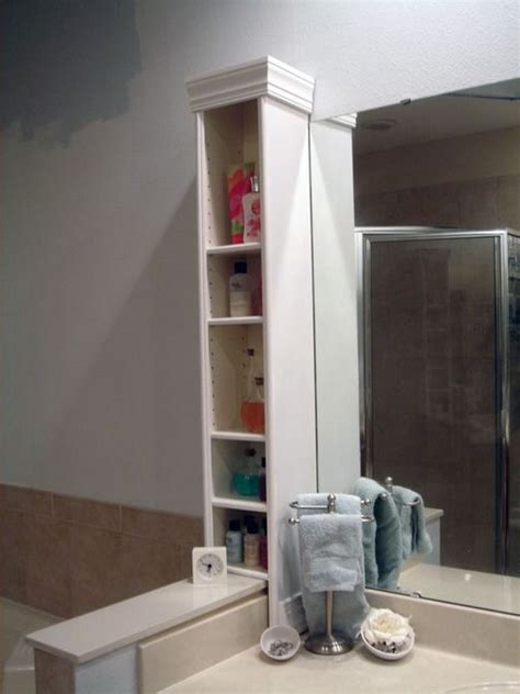 genius ikea hacks  bathroom hative