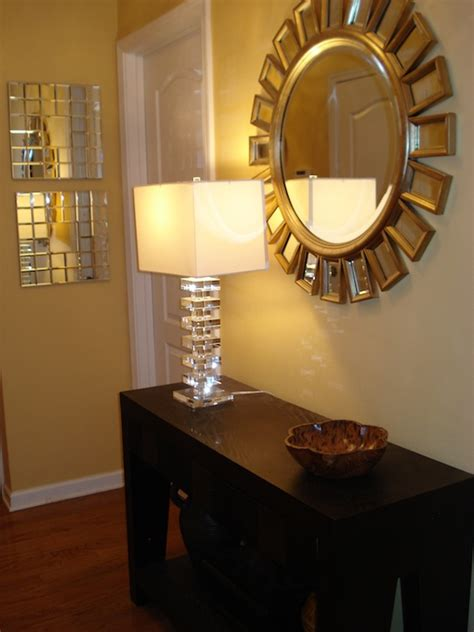 home goods mirror  home goods lamp transitional
