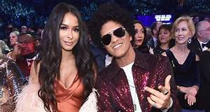 Bruno Mars Couples Up With Girlfriend Jessica Caban at ...