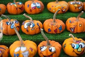 Painted, Mini, Pumpkins