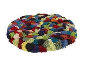 tapis rond hermia 100 diam 232 tre 100 cm tapis