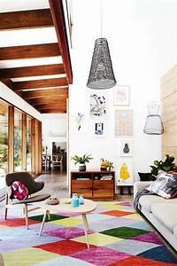43 idees en photos pour choisir la meilleure carpette With tapis moderne avec meuble et canapé