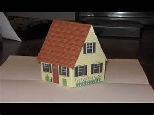 Pop Up Home : make pop up cottage card with narration also gingerbread house youtube ~ Melissatoandfro.com Idées de Décoration