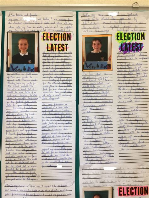 Maybe you would like to learn more about one of these? A very exciting campaign took place for the two student council seats. Congratulations to the ...