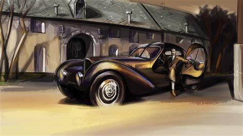 La voiture noire is a far more than a modern interpretation of jean bugatti's type 57 sc atlantic. Jean Bugatti Honored With New 'Legend' Veyron Special Edition