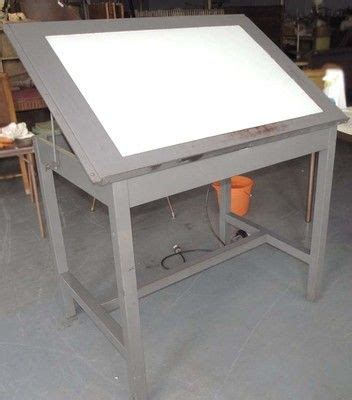 drafting table with lightbox 7 best light box tables images on pinterest light table
