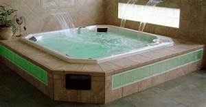 Custom Spa Hot Tub Installation