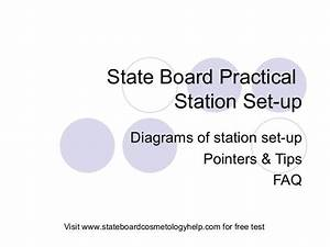 Resume For Cosmetology Student State Board Practical Setup By State Board Cosmetology