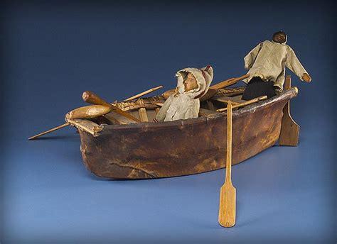 Umiak Boat by Civilization Ca Historic Inuit Models