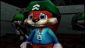 Saving Conker39s Privates Bad Fur Day N64 YouTube