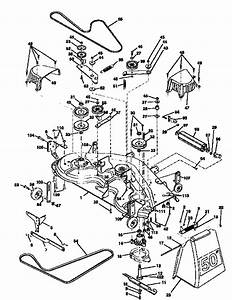 Mower Deck Diagram  U0026 Parts List For Model 917258920