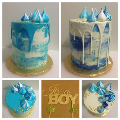 baby shower drip cakes delectable pinterest babies