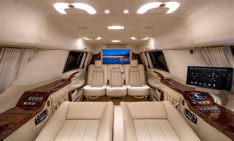 custom stretched cadillac escalade evs offers private jet