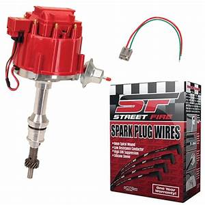 Sbf Hei Distributor And Spark Plug Wiring Kit  Roller Camshaft