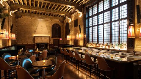 Return Of The Campbell, An Ornate Grand Central Bar