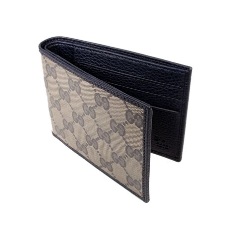 designer mens wallets gucci designer wallet mens blue beige coated canvas