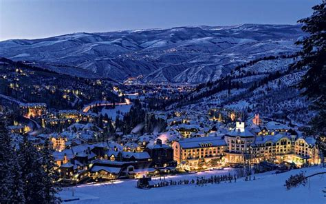 luxury ski resorts telegraph
