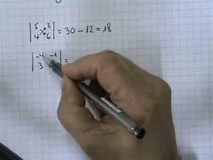 Determinante Berechnen 2x2 : determinantes 2x2 01 youtube ~ Themetempest.com Abrechnung