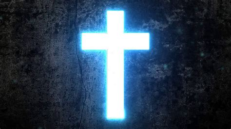 Cross Hd Picture by Hd 720p Glowing Cross Motion Background