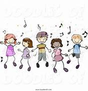 Illustration Of Doodled Children Dancing To Music By Bnp Design Studio  Child Dancing Clipart