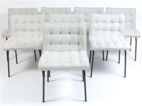 chaises capitonn es galerie alexandre guillemain artefact design rené jean