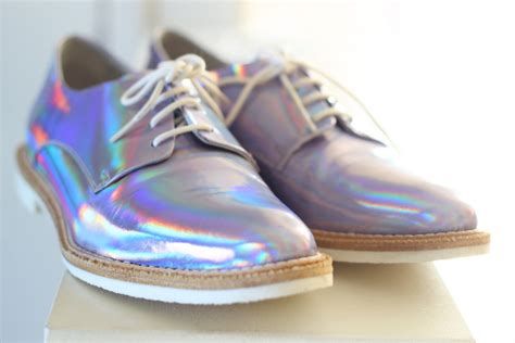 Holographic Miista Shoes