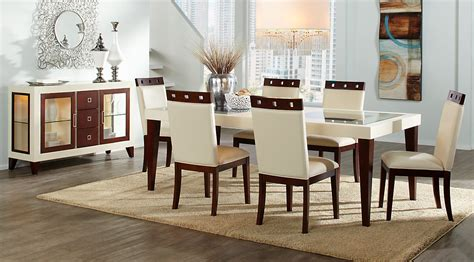 beige brown white dining room furniture ideas decor