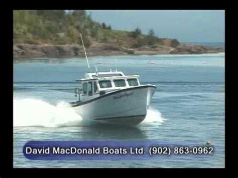 Lobster Boat Builders Pei by David Macdonald Boats Ltd