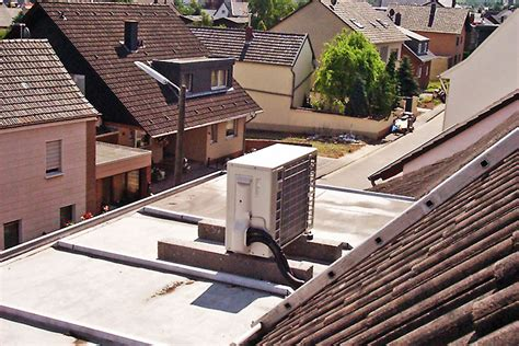 Split Klimaanlage  Außengerät  Planung, Montage