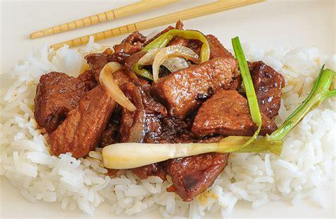 recette cuisine porc échine de porc au caramel cuisine à l 39 ouest