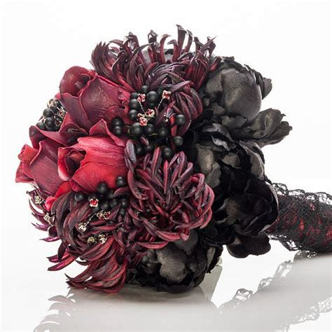 17 Best Images About Gothic Bouquet On Pinterest