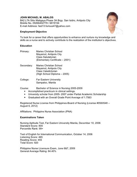 application letter exle for seaman 28 images resume