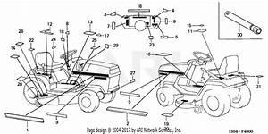 Honda Ht3810 Sa Lawn Tractor  Jpn  Vin  Ht3810