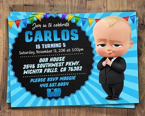boss baby invites boss baby printables boss baby printable