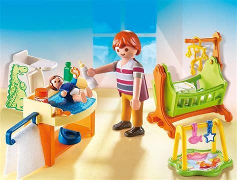 playmobil chambre playmobil 5304 la chambre à coucher de bébé amazon fr