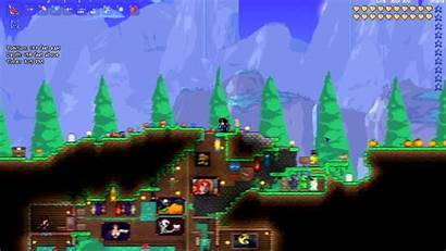 Terraria Background Wallpapers Amazing Source
