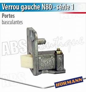 verrou porte basculante debordante hormann serie 1 gauche With porte de garage tubauto basculante pieces detachees