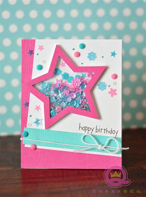 happy birthday handmade card  queen  pop