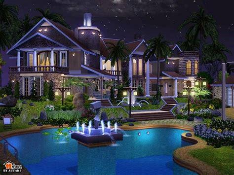 sims house interiors amon villa  sims