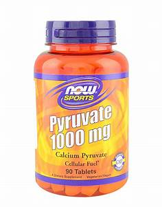 Pyruvate 1000mg By Now Foods  90 Tablets   U00a3 15 13