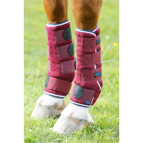 leg wraps equine front premier dry quick navy burgundy